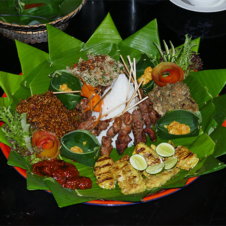 Indonesian Rice-Dinner